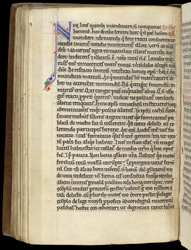 Decorated Initial, In Baldwin of Canterbury's 'The Sacraments' f.48v